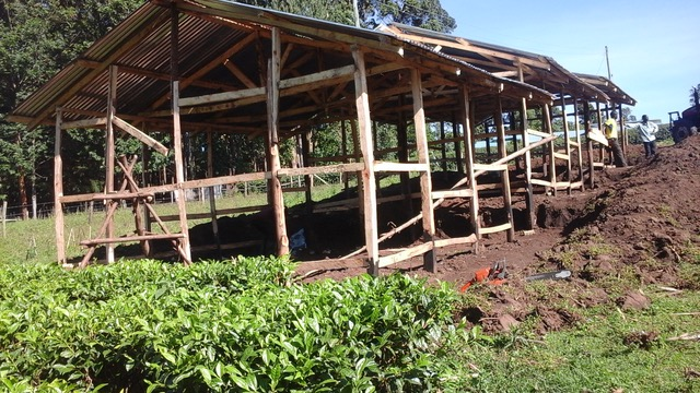 Building Update for Our Kenya Sister School!
